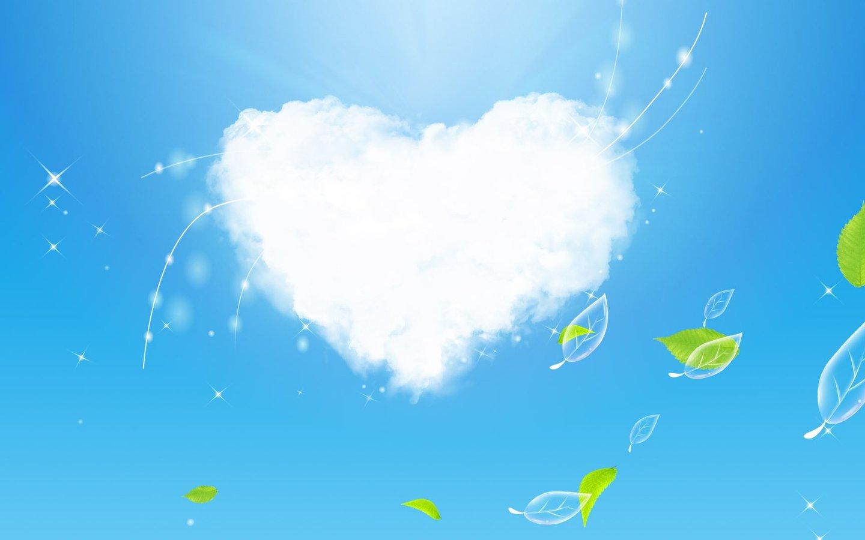 壁纸桌面蓝天白云图片 蓝天白云草地桌面壁纸,蓝天白云桌面高清图片