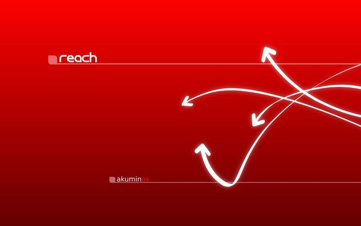 安卓简约 设计 线条 红色手机壁纸