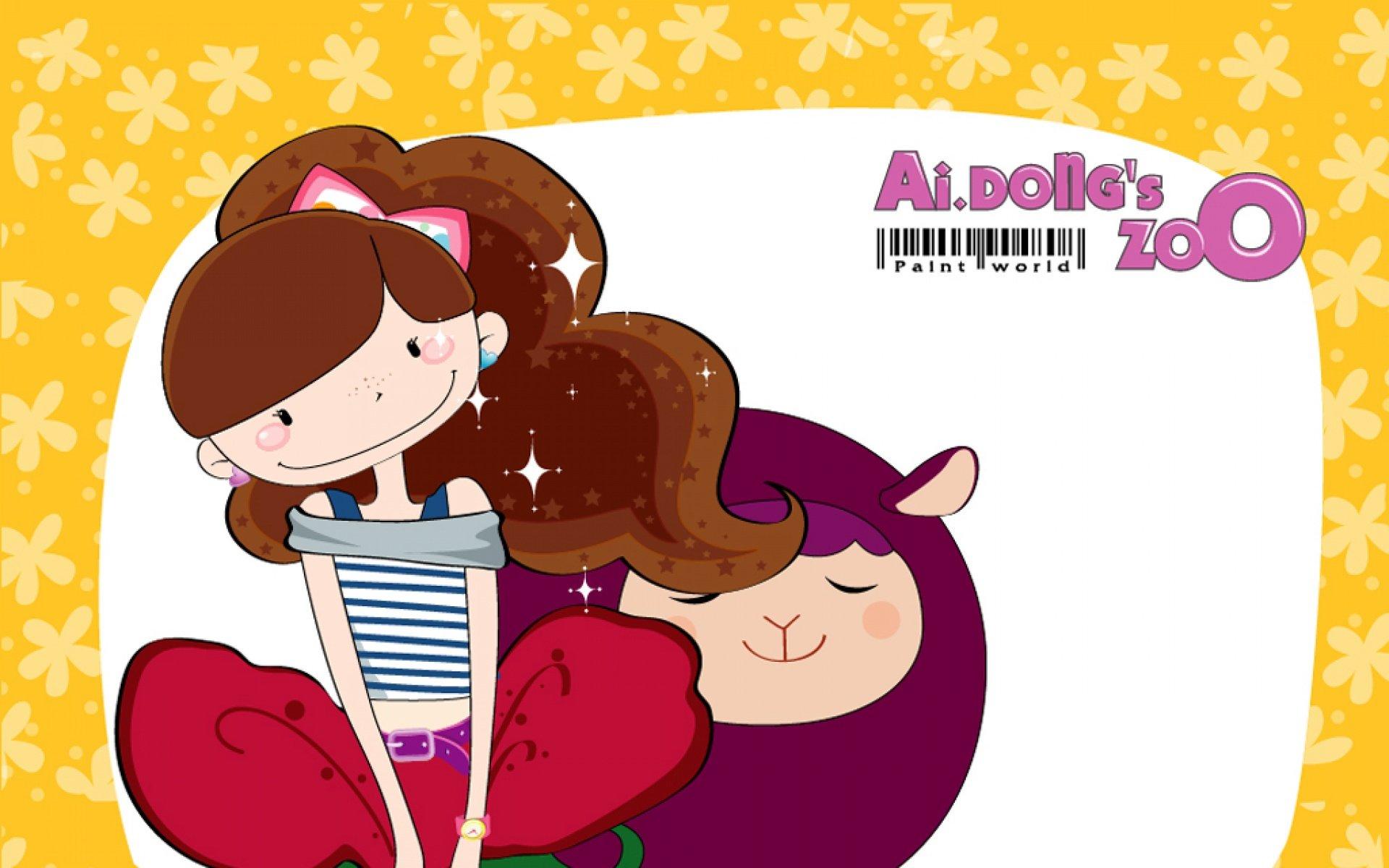 android安卓爱冬 女孩 精美 可爱 原创 卡通高清手机
