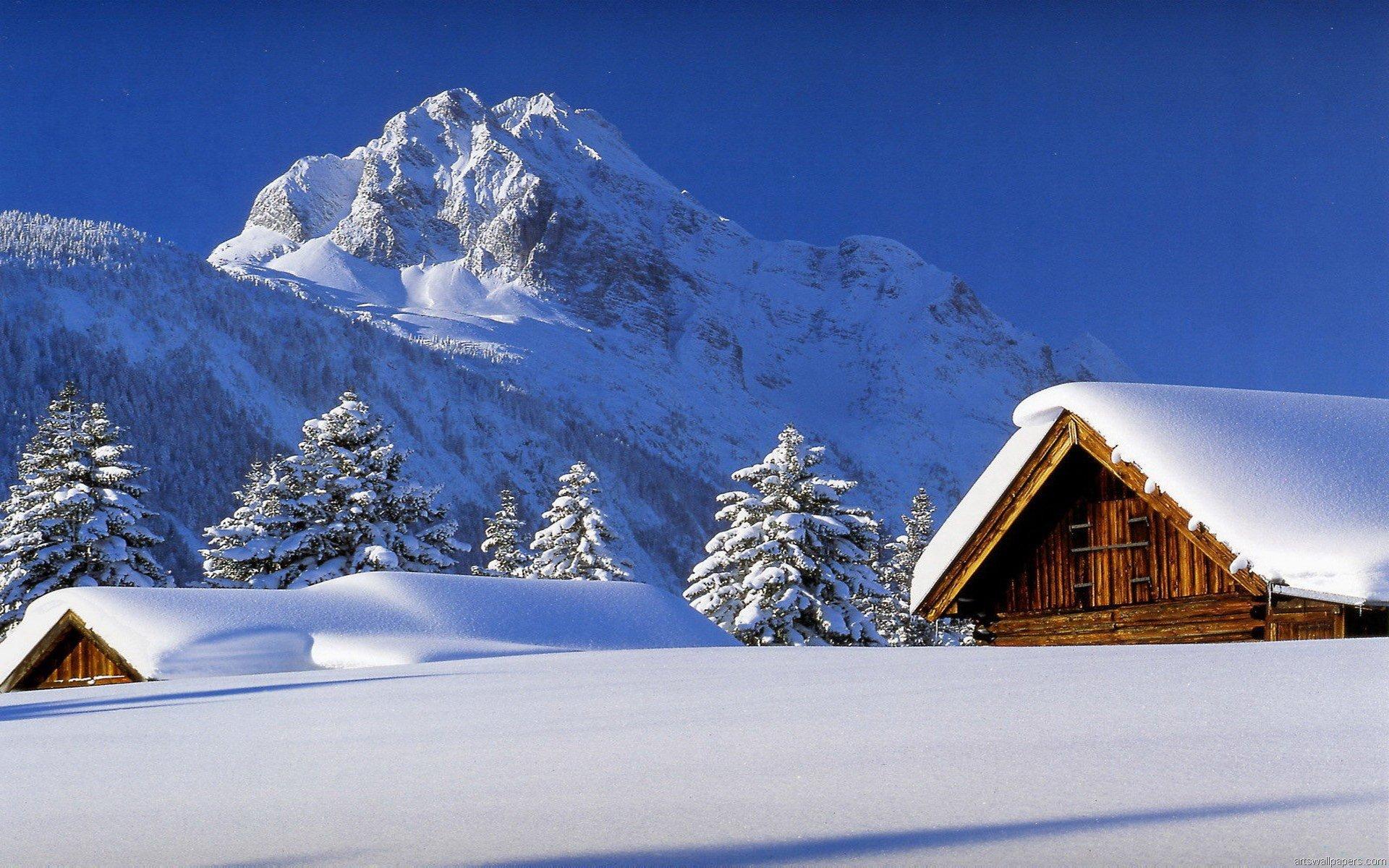 风景 冰天雪地