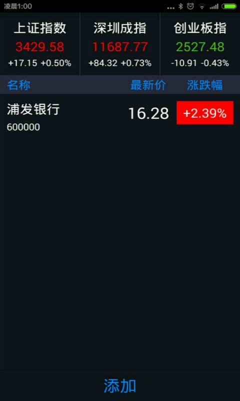 锁屏股票截图3