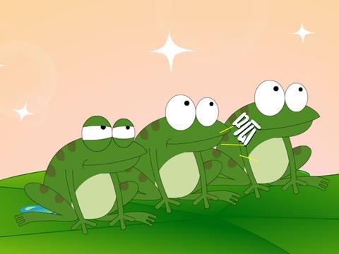 >青蛙大嘴巴