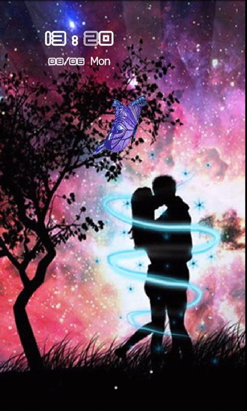 love主题炫酷锁屏截图3