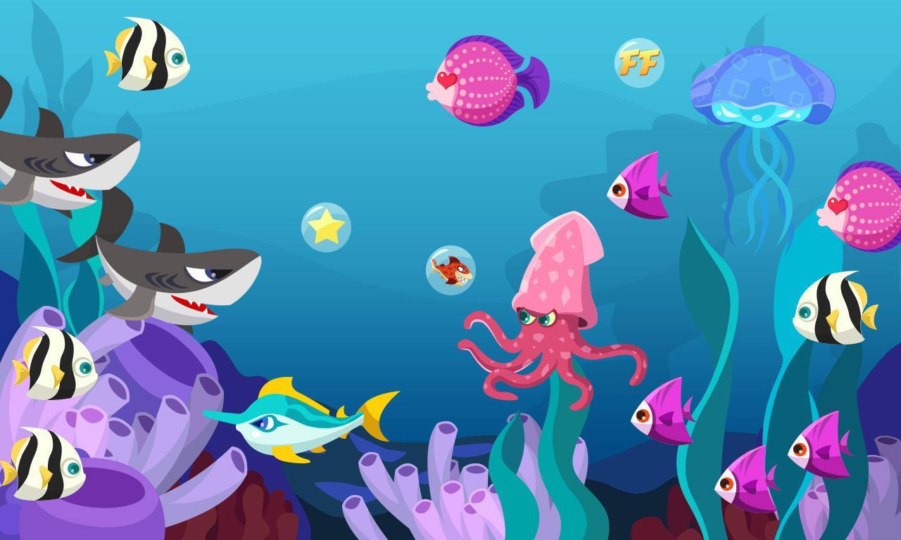 软件 壁纸主题 >海底世界  应用介绍 海底世界动态壁纸,省电,有趣
