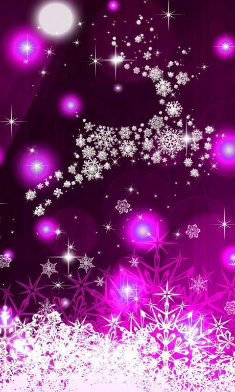 梦幻紫色-绿豆动态壁纸安卓版下载-顺网手机助手官网