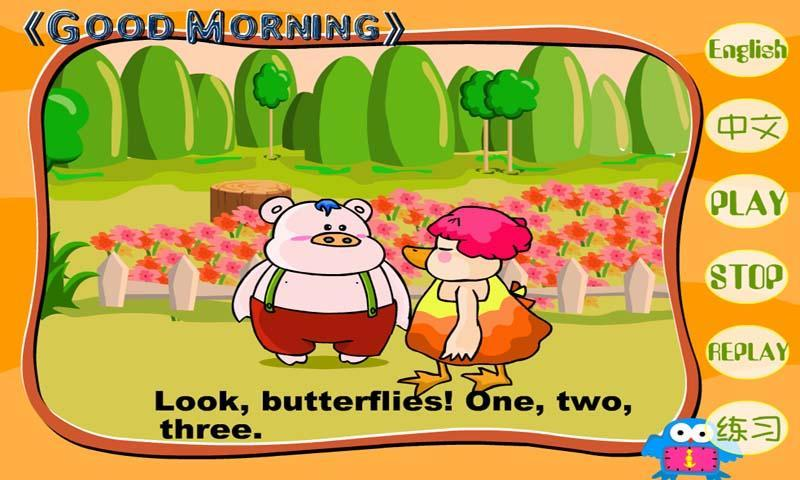 三只小猪英语动画