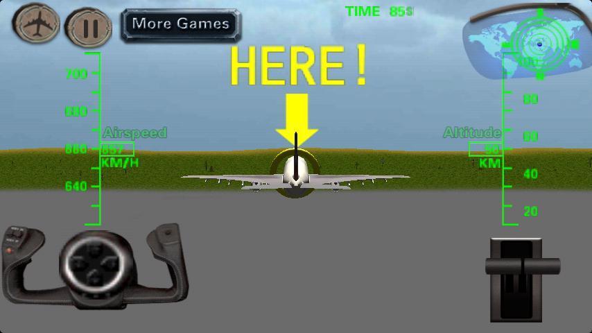 游戏 飞行射击 3d飞机飞行模拟器