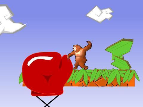 手绘熊大卡通图片