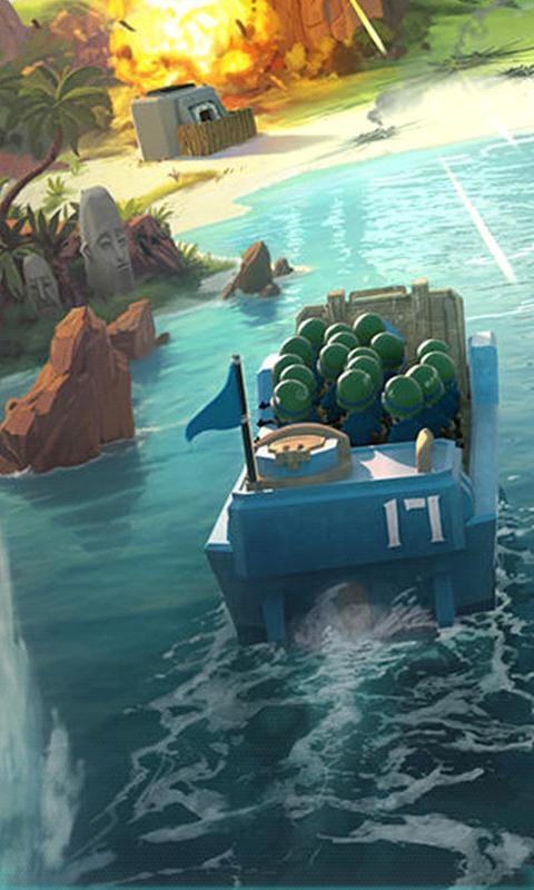 海岛奇兵-3d桌面壁纸
