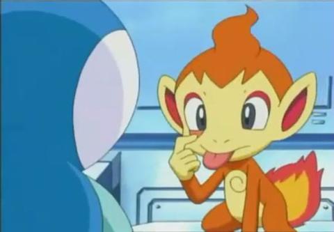 《宠物小精灵go》 挑战真司的小火猴