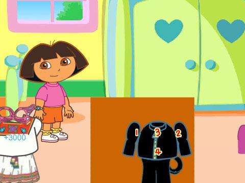幼儿叠衣服步骤卡通图片